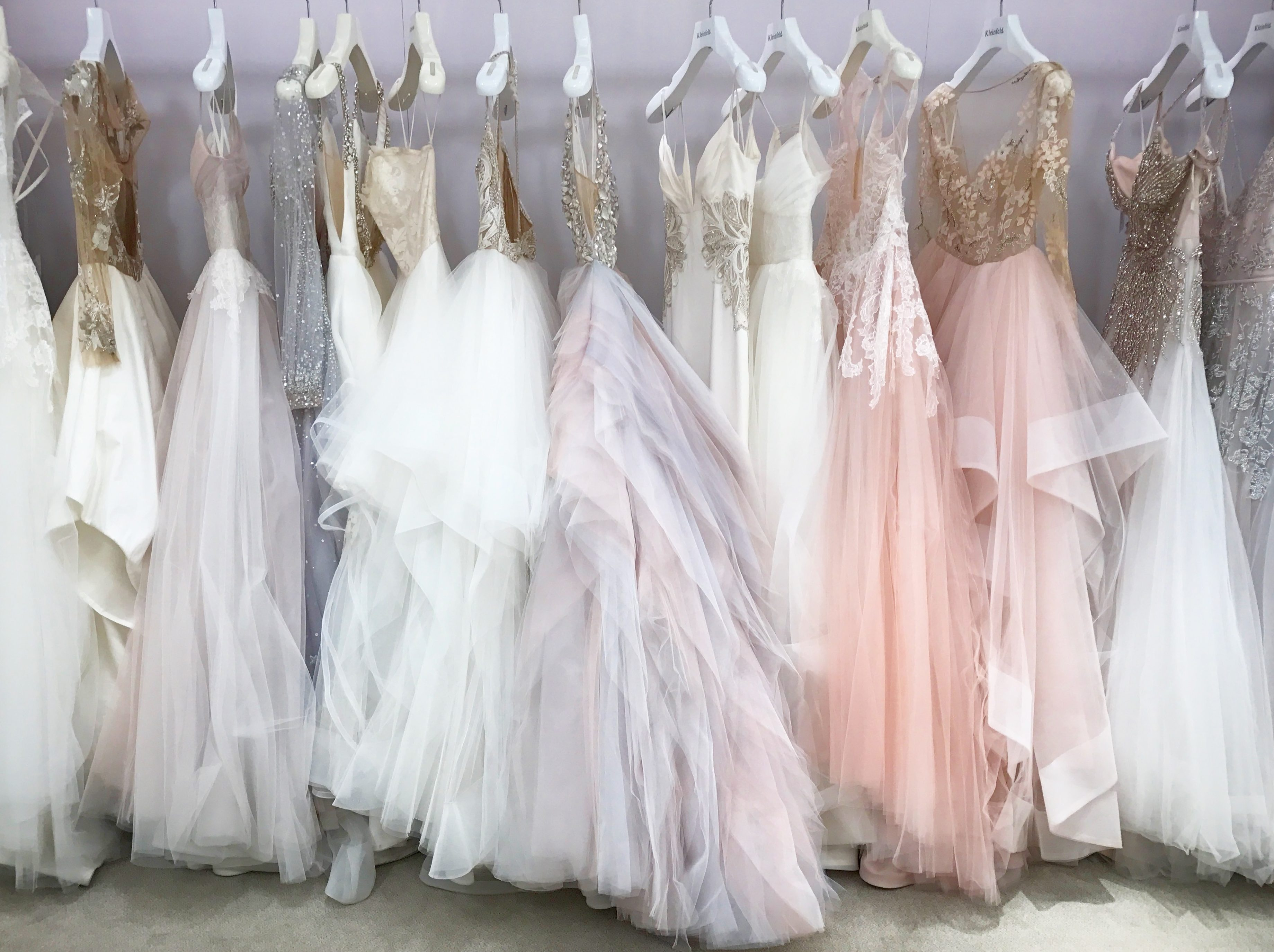 Kleinfeld bridal the largest selection of wedding for Largest selection of wedding dresses