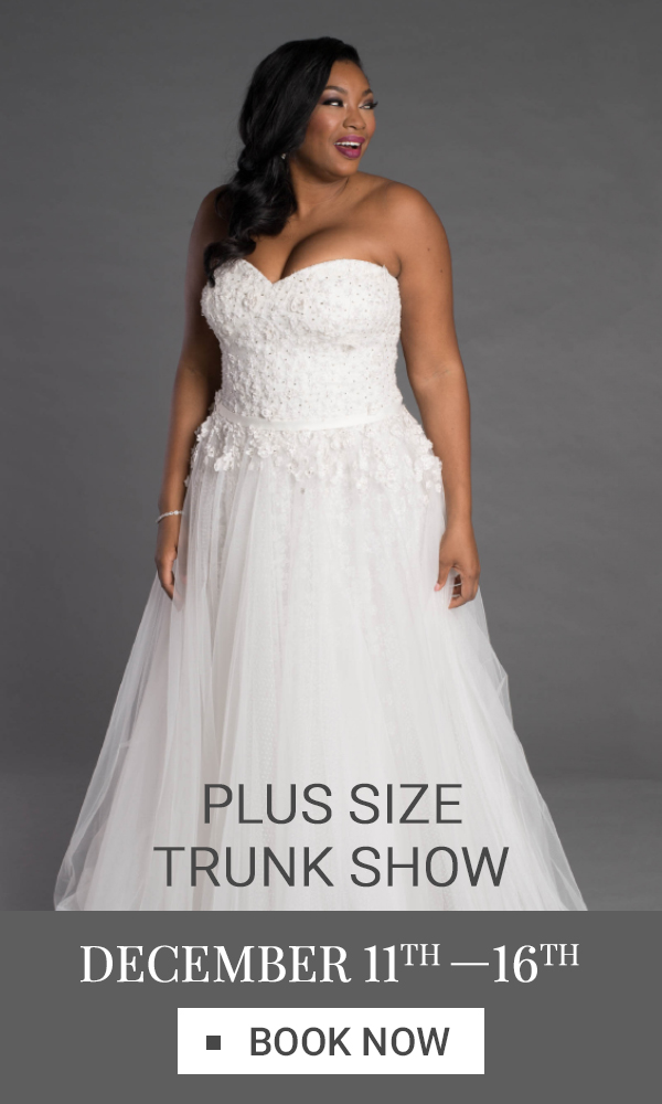 Plus Size Trunk Show Vertical Banner