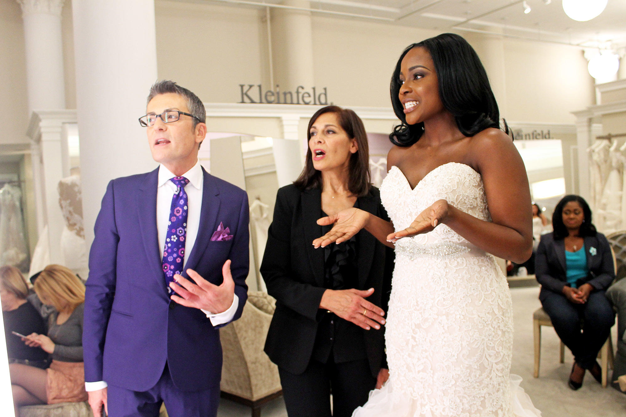 Randy Fenoli consulting bride