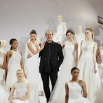 Tony Ward dress show with models