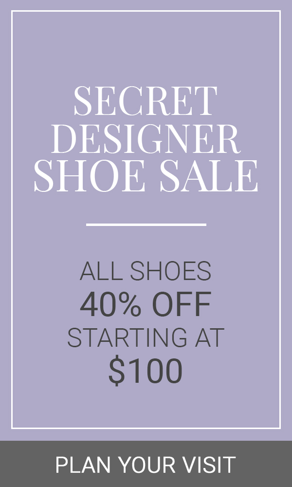 April 2019 Shoe Sale Vertical Banner