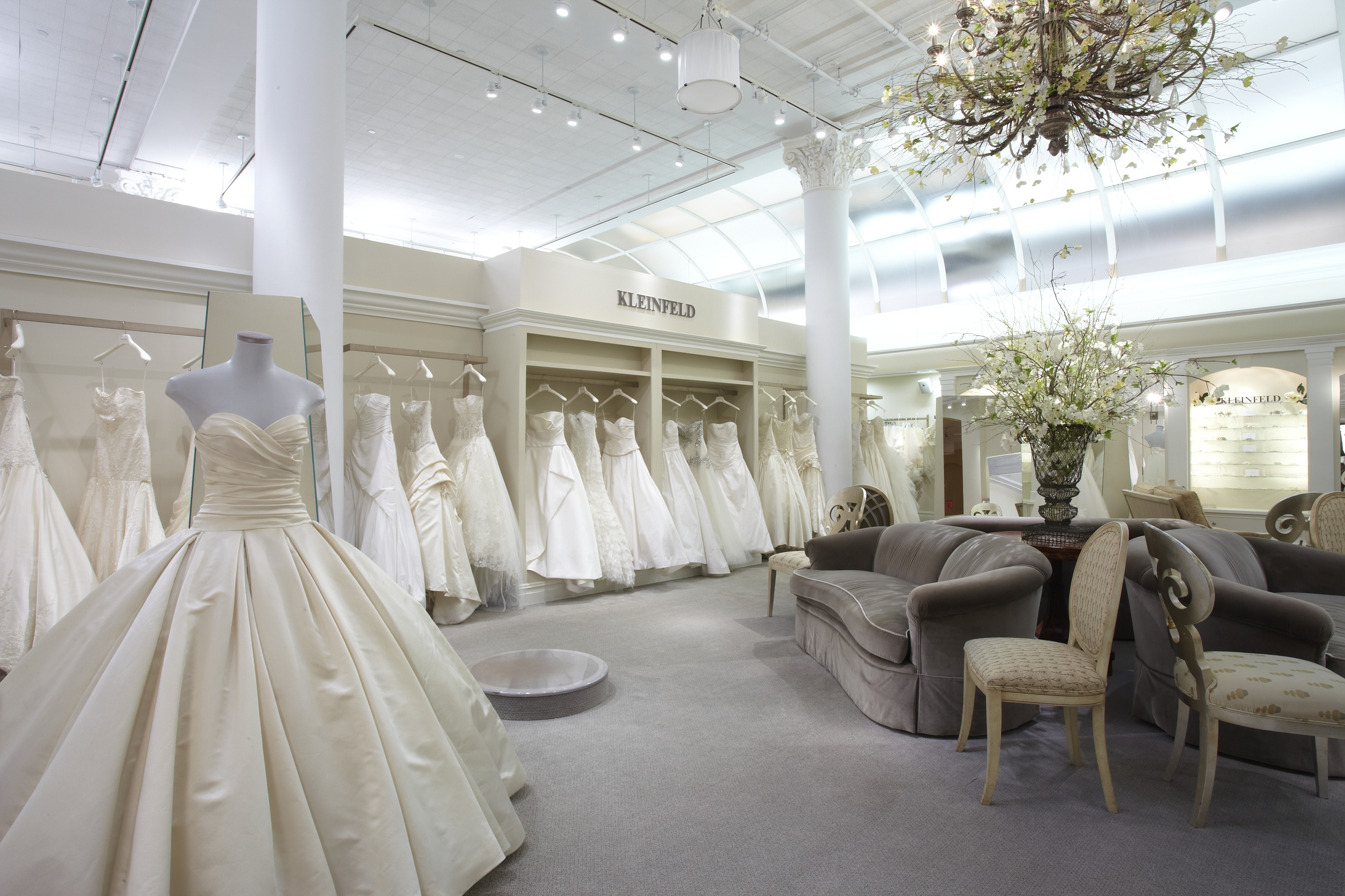 Kleinfeld main bridal salon