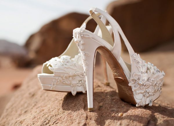 Pnina Tornai Fl Shoes On Beach
