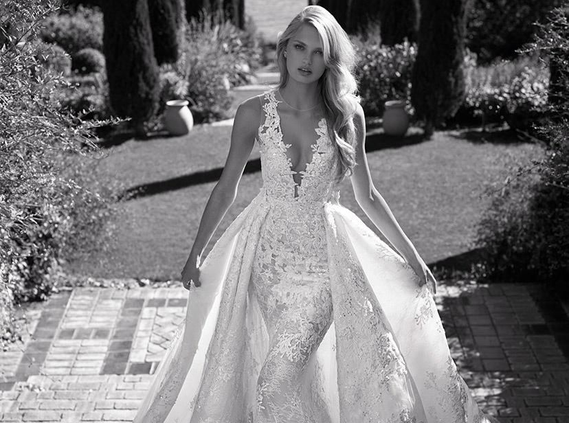 Pronovias Real Wedding Inspiration: Kleinfeld Bridal