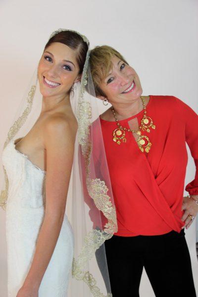 Toni Federici and bride