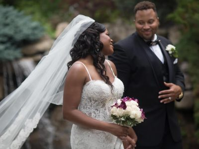 Racheal and Robert bride and groom