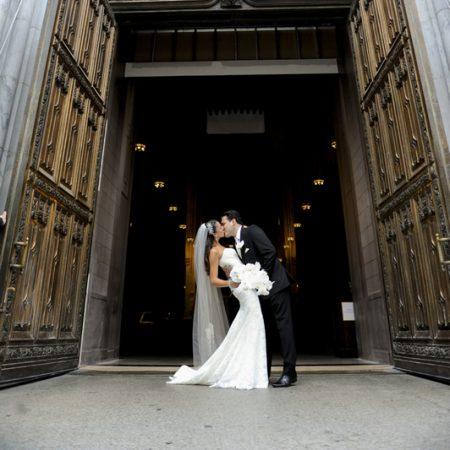 Renee and Joseph bride and groom