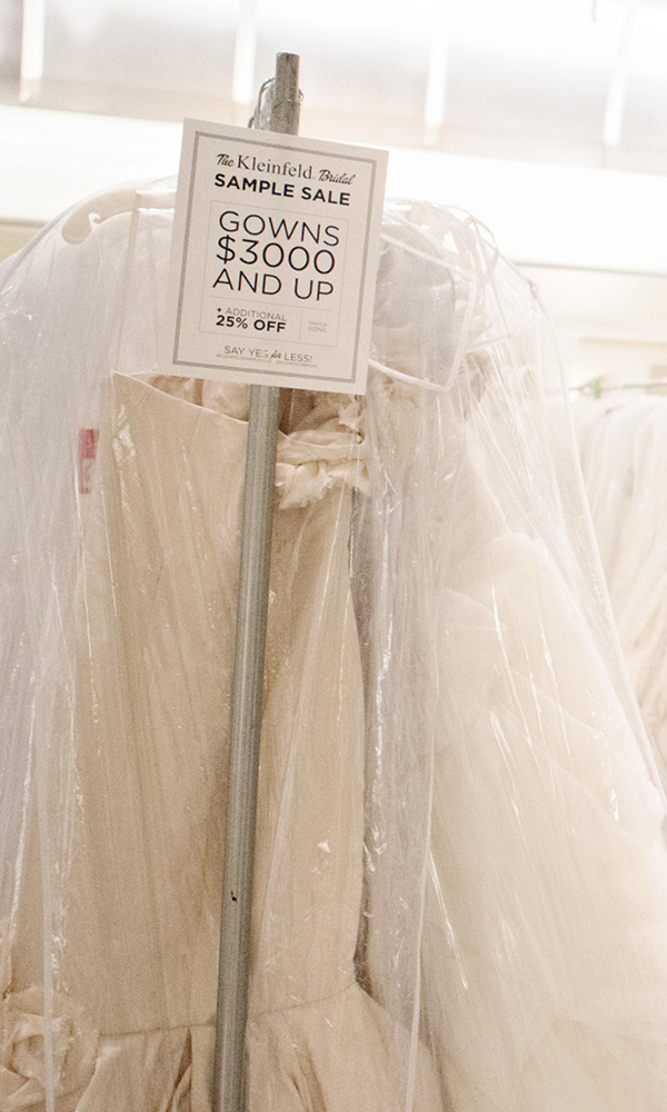 First Ever Two Day Sample Sale At Kleinfeld Kleinfeld Bridal