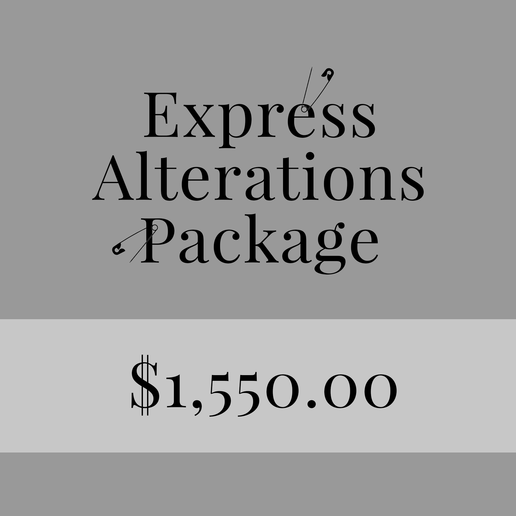 express alteration package