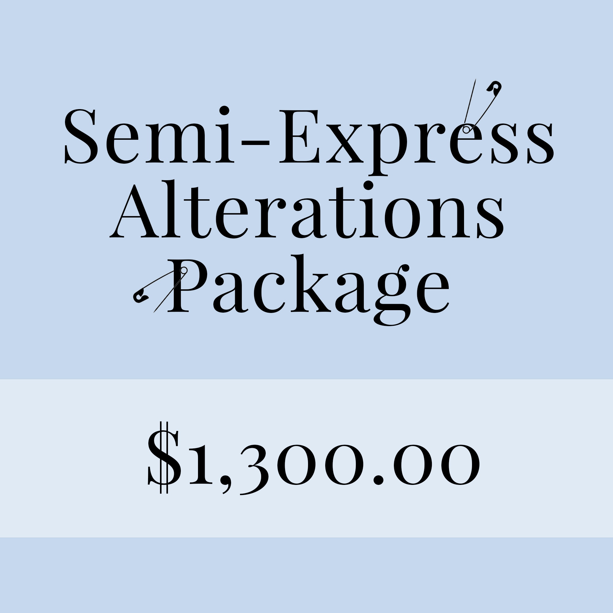 semi-express alternations package