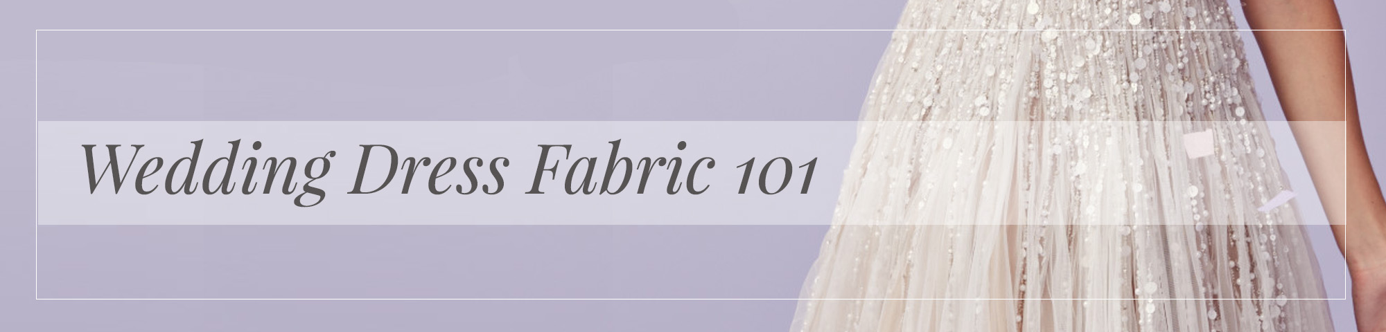 Wedding dress fabric 101 kleinfeld bridal for Wedding dress material guide