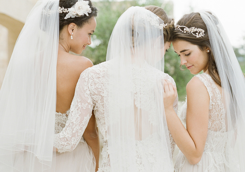 Bel aire bridal kleinfeld bridal for Bel aire bridal jewelry