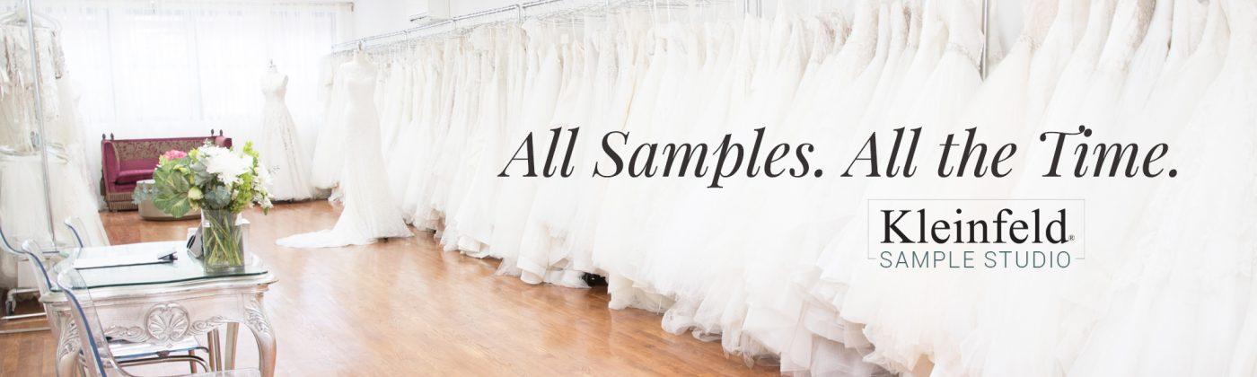 kleinfeld sample studio sales