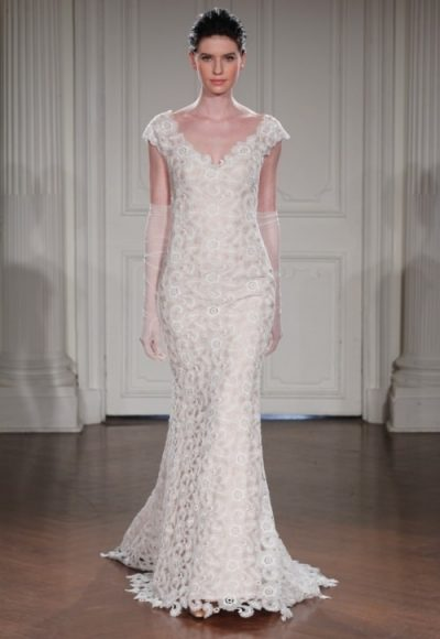 Fit And Flare Wedding Dress by Peter Langner