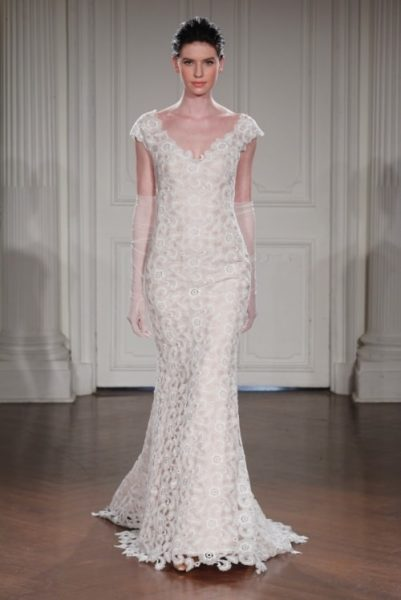 Fit And Flare Wedding Dress by Peter Langner - Image 1
