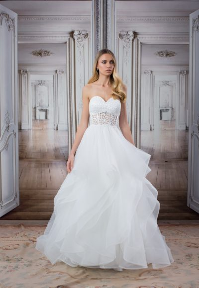 Modern A-Line Wedding Dress by Love by Pnina Tornai