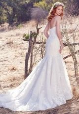 Classic Fit And Flare Wedding Dress by Maggie Sottero - Image 2