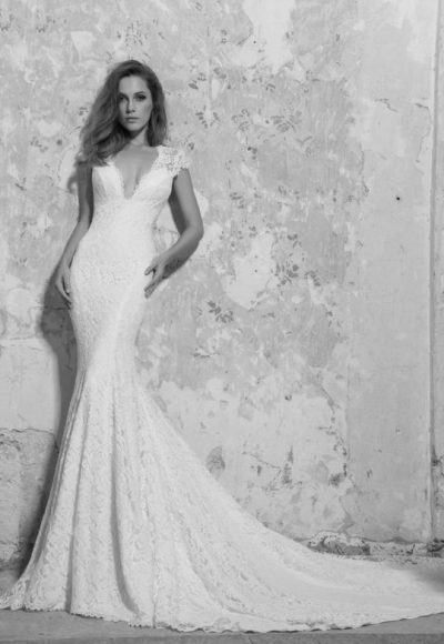 Classic Fit And Flare Wedding Dress by Love by Pnina Tornai