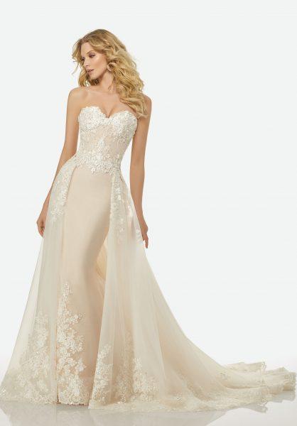 Romantic A-line Wedding Dress by Randy Fenoli - Image 1