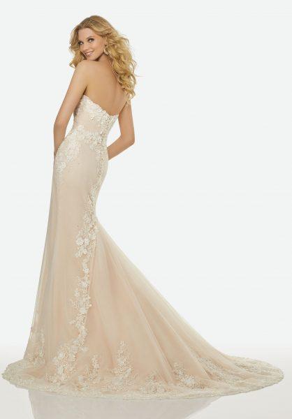 Romantic A-line Wedding Dress by Randy Fenoli - Image 3