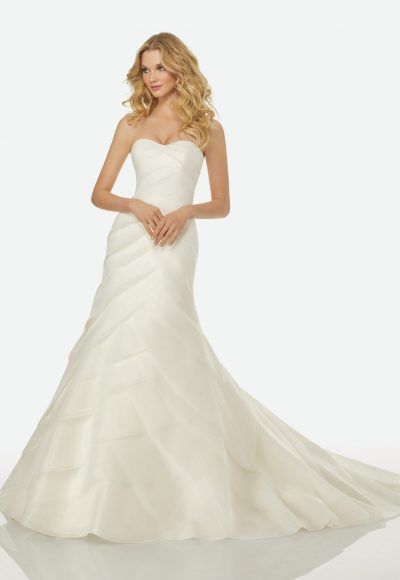 Simple A-line Wedding Dress by Randy Fenoli