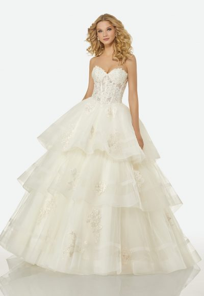 Couture Ball Gown Wedding Dress by Randy Fenoli