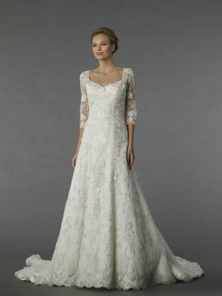 A-Line Wedding Dress by Alita Graham - Image 1