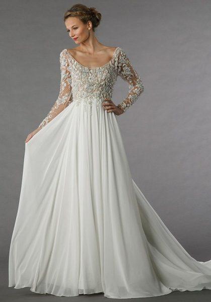 Romantic a line wedding dress kleinfeld bridal romantic a line wedding dress by alita graham image 1 junglespirit Choice Image