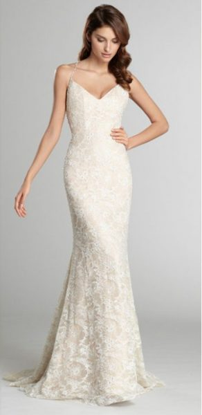A-Line Wedding Dress by Alvina Valenta - Image 1