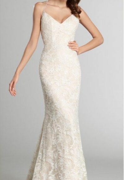 A-Line Wedding Dress by Alvina Valenta