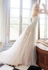 A-Line Wedding Dress by Alvina Valenta - Image 1