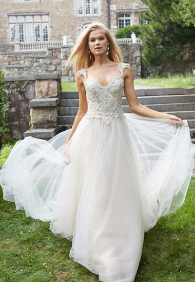 Ball Gown Wedding Dress by Alvina Valenta