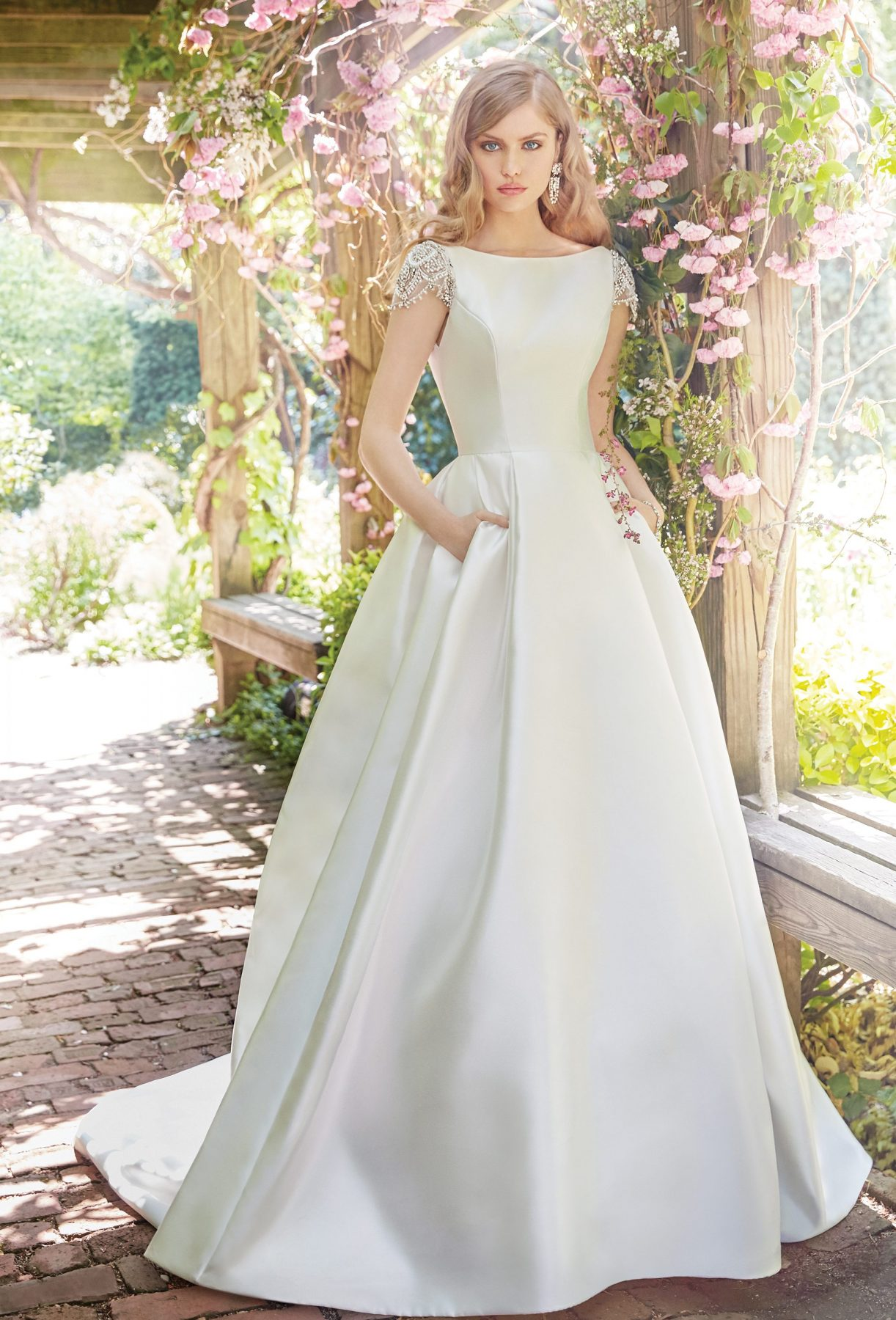 ... Ball Gown Wedding Dress by Alvina Valenta - Image 1 zoomed in