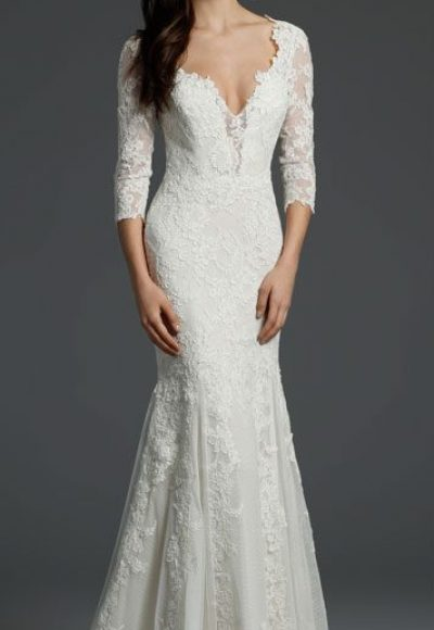 Fit And Flare Wedding Dress by Alvina Valenta