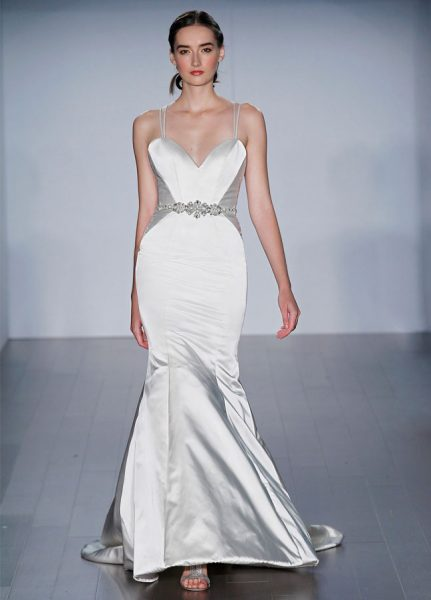 Mermaid Wedding Dress by Alvina Valenta - Image 1