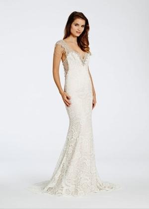 Sheath Wedding Dress by Alvina Valenta - Image 1