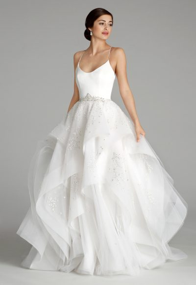Trendy Ball Gown Wedding Dress by Alvina Valenta