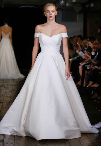 Classic Ball Gown Wedding Dress by Alyne by Rita Vinieris