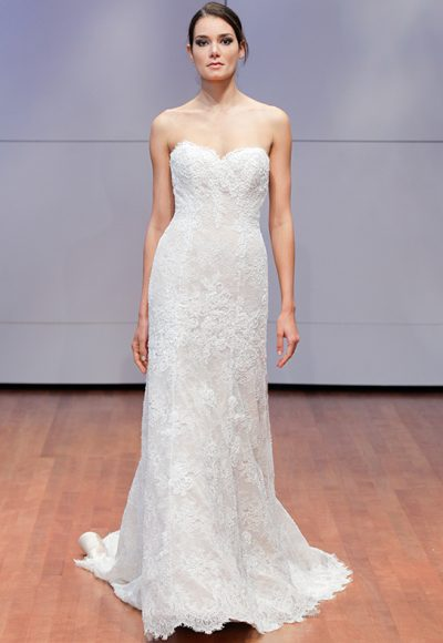 Romantic Sheath Wedding Dress by Alyne by Rita Vinieris
