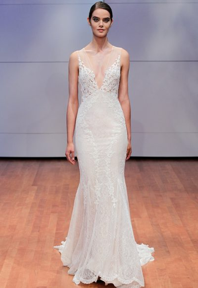 Sexy Sheath Wedding Dress by Alyne by Rita Vinieris