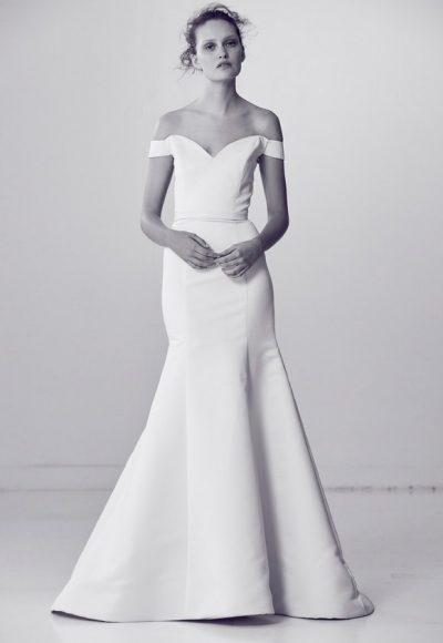 Simple Mermaid Wedding Dress by Alyne by Rita Vinieris