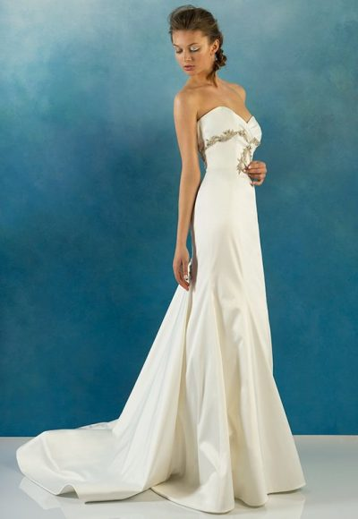 Simple Sheath Wedding Dress by Alyne by Rita Vinieris