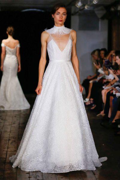 Trendy Ball Gown Wedding Dress by Alyne by Rita Vinieris - Image 1