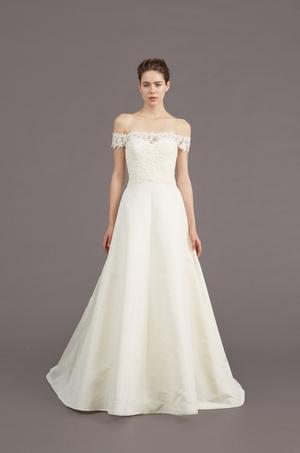 A-Line Wedding Dress by Amsale - Image 1