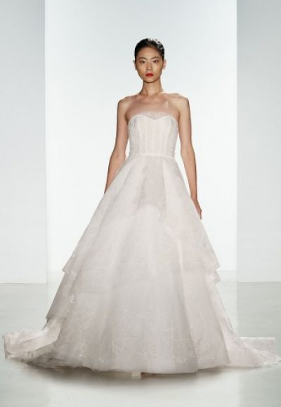 Ball Gown Wedding Dress by Amsale