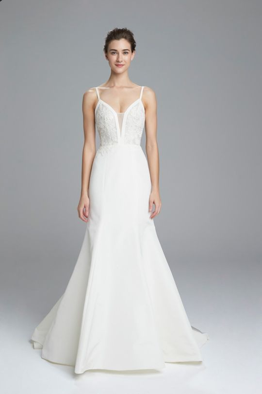Fit And Flare Wedding Dress by Amsale - Image 1