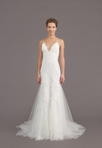 Fit And Flare Wedding Dress by Amsale