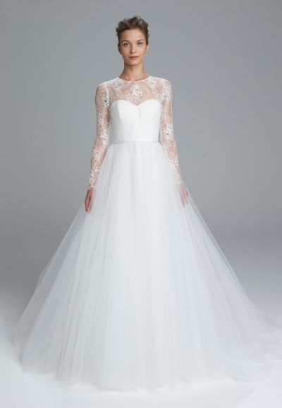 Romantic Ball Gown Wedding Dress by Amsale