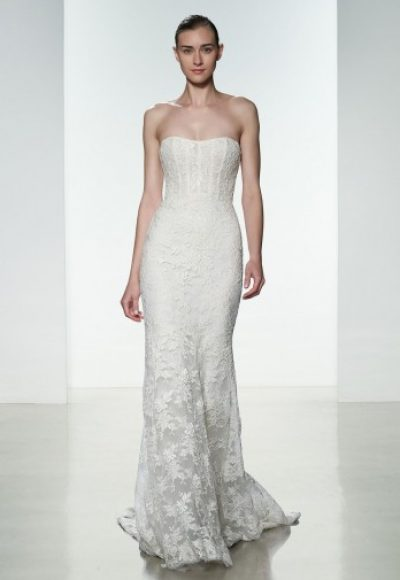 Sheath Wedding Dress by Amsale