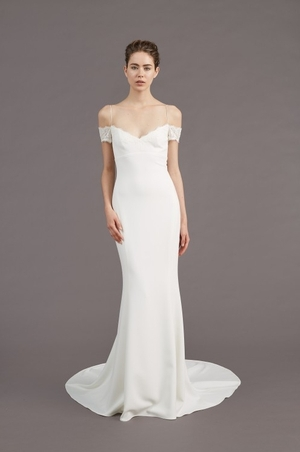 Sheath wedding dress kleinfeld bridal sheath wedding dress by amsale image 1 junglespirit Images